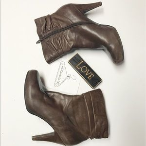 Worthington Brown Ankle Boots